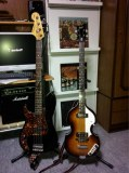 MY PB とHofner IGNITION BASS